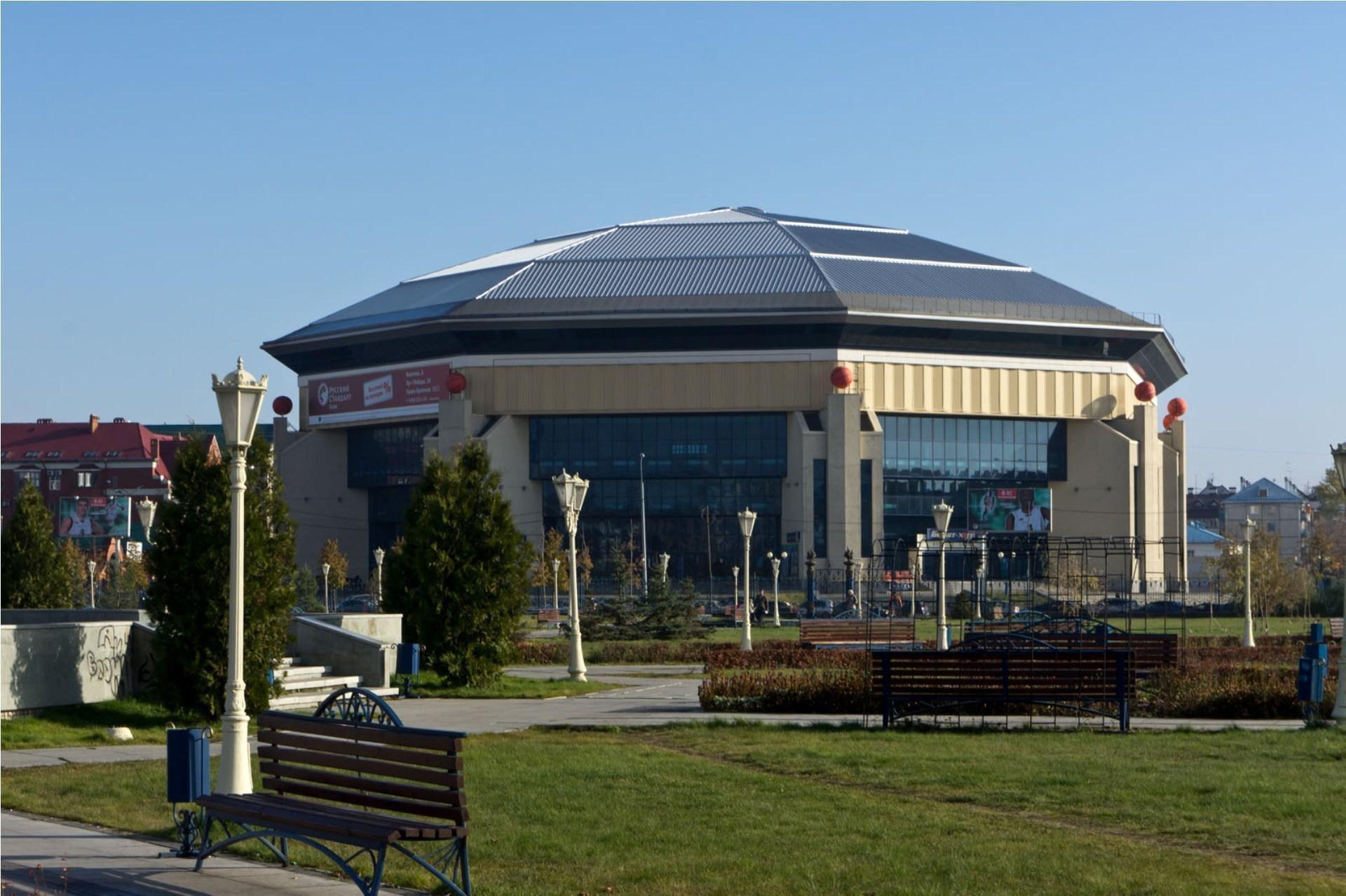Баскетбольное спортивное сооружение Баскет-холл